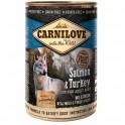 Carnilove 400g wild meat adult salmon+turkey