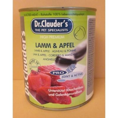 Dr.Clauder´s 800g jehněčí maso + jablko( Lamm+Apfel)
