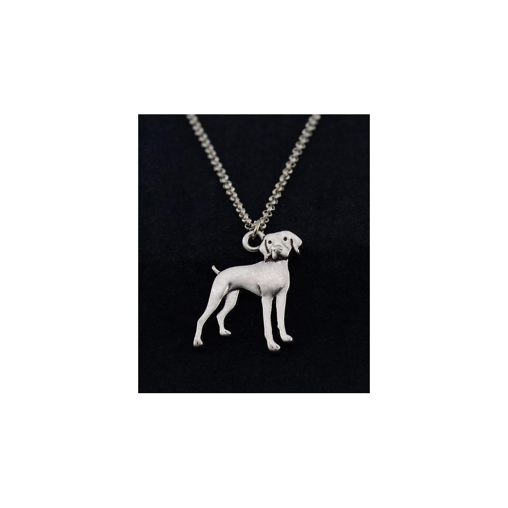 VÝMARSKÝ OHAŘ Č.2- náhrdelník s přívěskem - stříbrný 1ks