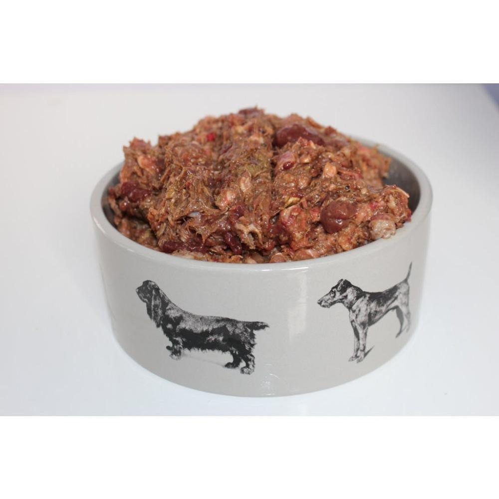 BARF - Masožravci menu hovězí a kuřecí 1 kg