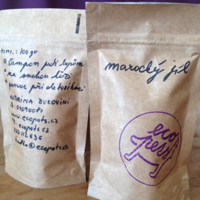 Ecopets marocký jíl na srst 100 g