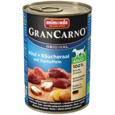 GRANCARNO Adult - uzený úhoř + brambory 400g
