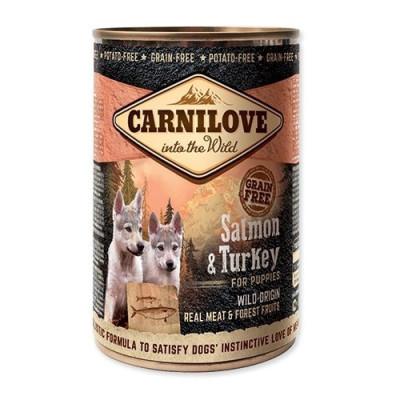 Carnilove 400g wild meat puppy salmon+turkey (losos+krocan)
