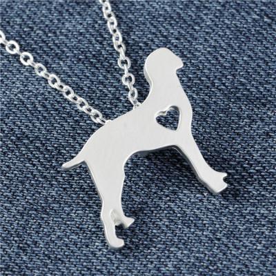 VÝMARSKÝ OHAŘ - náhrdelník s přívěskem - stříbrný 1ks