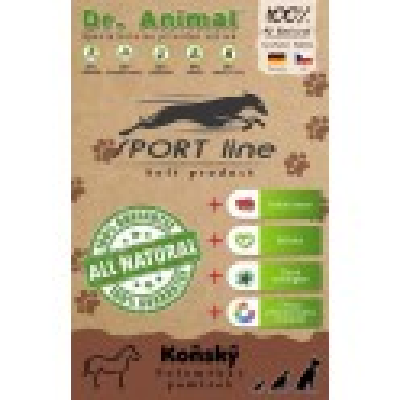 Dr. Animal Sport line Kůň 100g