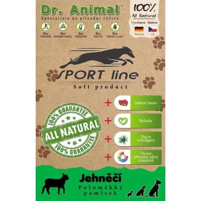 Dr. Animal Sport line Jehněčí 100g