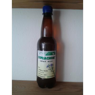 Lněný olej 0,5l