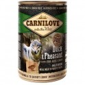 Carnilove 400g wild meat adult duck+pheasant
