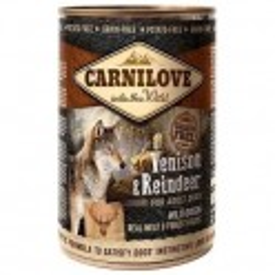 Carnilove 400g wild meat adult venison+reindeer
