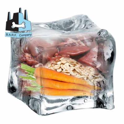 BARF - Vepřový mrkvový obláček s vločkami 0,4 kg