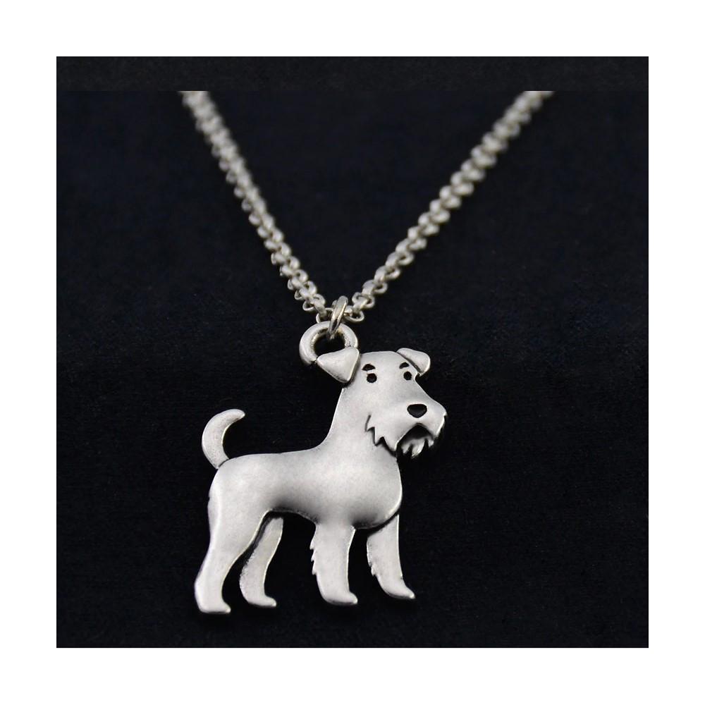 KNÍRAČ č. 1 - náhrdelník s přívěskem - stříbrný 1ks