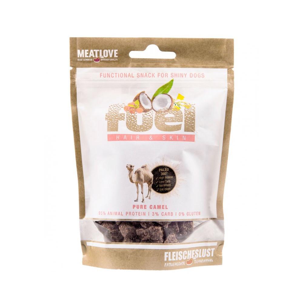 Meatlove 100% přírodní pamlsky - velbloud 80 g