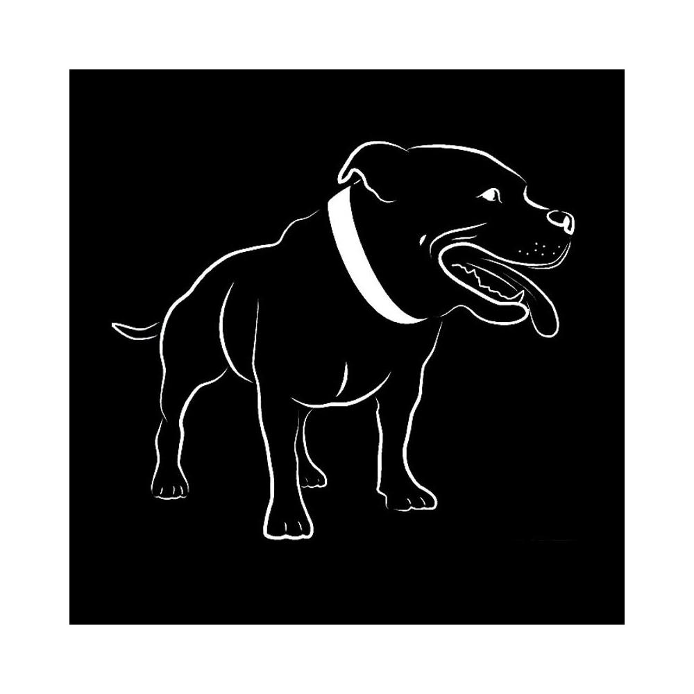 staford - nálepka černá 1 ks
