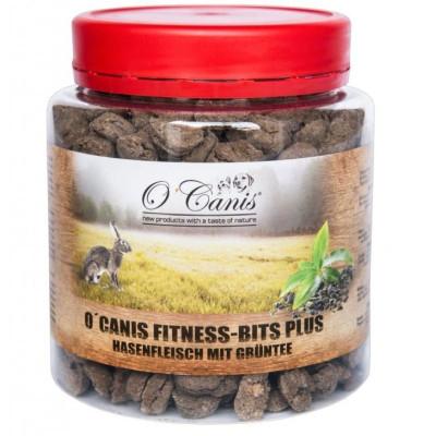 O'Canis Fitness-Bits PLUS Zajíc se zeleným čajem 300g