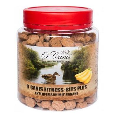 O'Canis Fitness-Bits PLUS Kachna s banánem 300g