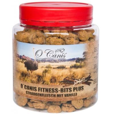 O'Canis Fitness-Bits PLUS Pštros s vanilkou  300g