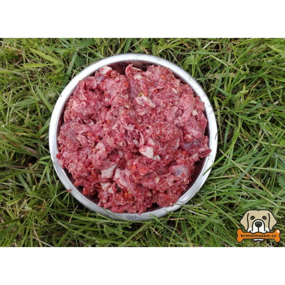 BARF - Kráva komplet s chrupavkou1 kg