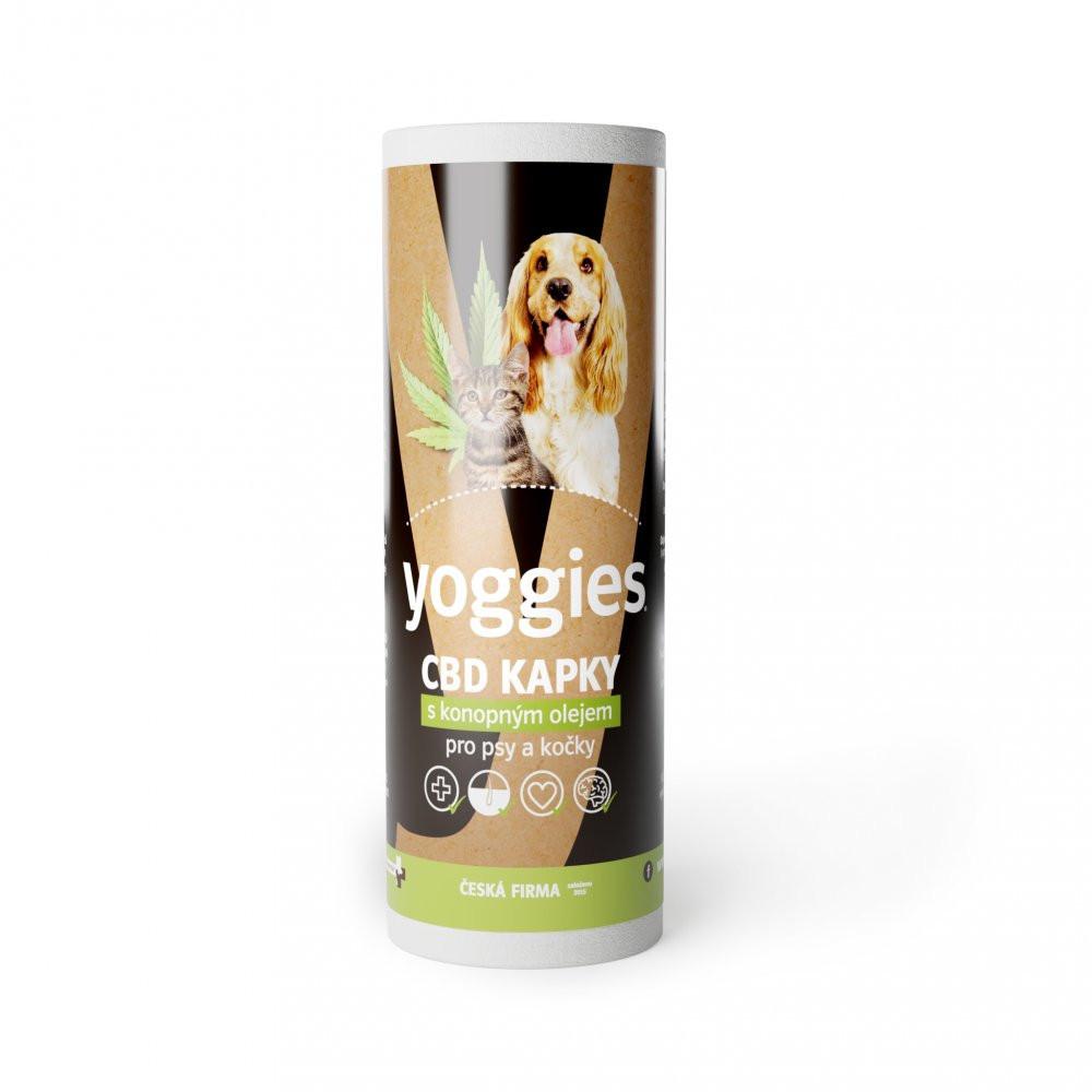Yoggies® CBD olej 3,2 % pro psy a kočky, 10 ml